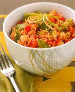 Ensalada de la quinoa