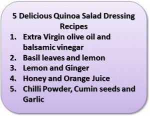 Quinoa Salad Dressing